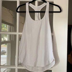 Lululemon White Tank Top - Size 6